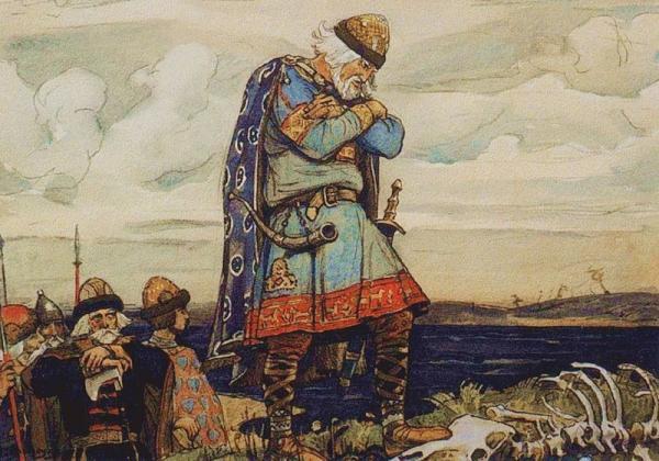 Картинки по запросу князь олег портрет