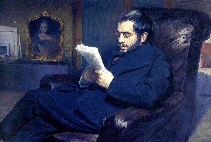 Александр Бенуа портрет
