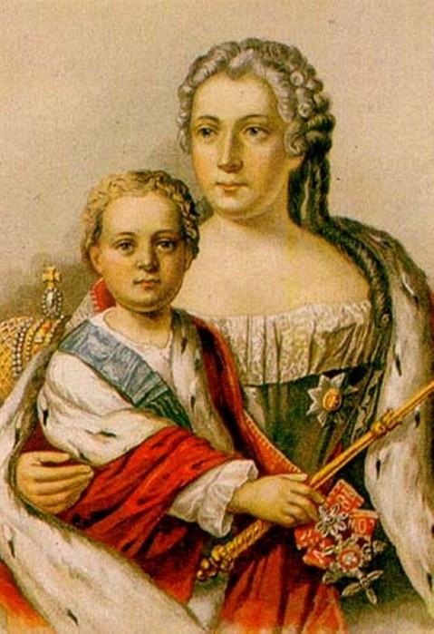 Анна Леопольдовна и Иван Антонович