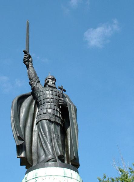 Муром. Памятник Илье Муромцу