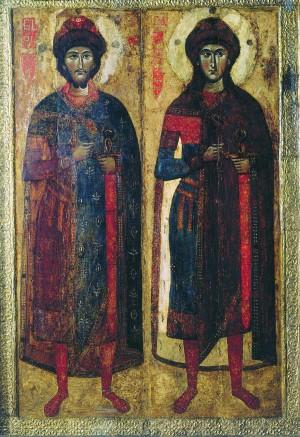 Борис и Глеб – первые святые Руси