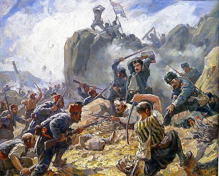 Русско-турецкая война 1877-1878 гг бой за Шипку