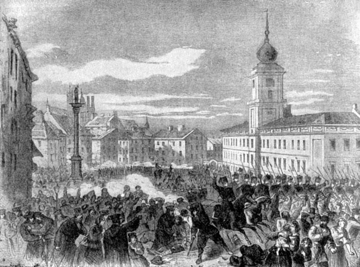 Польское восстание фото