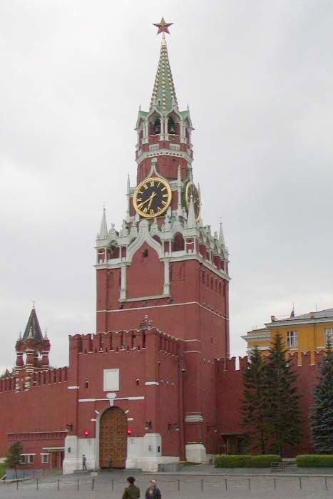 Спасская башня фото