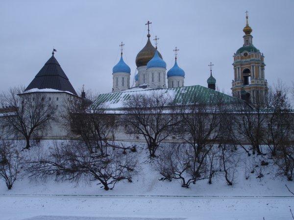 Новоспасский монастырь фото
