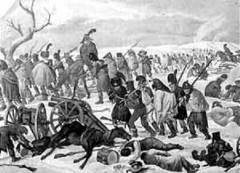 1812 год. бегство французов из Москвы