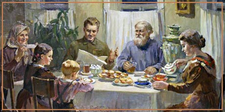 Трезвое застолько - русская традиция!
