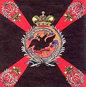 Цветное знамя Московского гренадерского полка образца 1800 г.