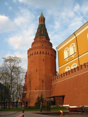Арсенальная башня Московского Кремля