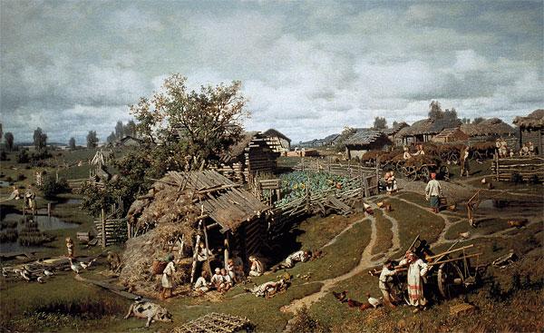 сельское хозяйство и ремесло древней Руси