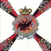 Белое знамя Таврического гренадерского полка образца 1800 г.