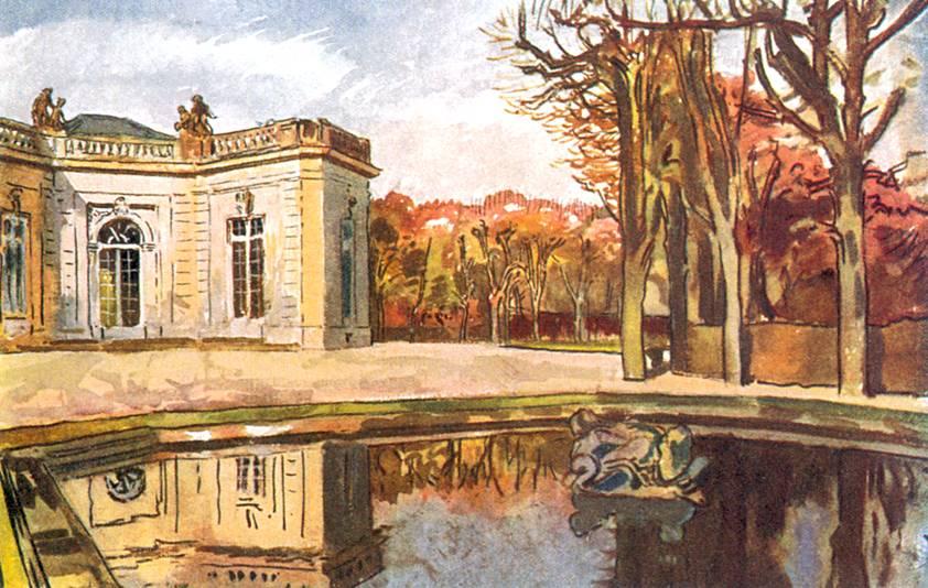 Версаль. Сад Трианона