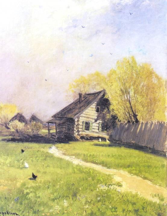 Ранняя Весна. Картина Коровина