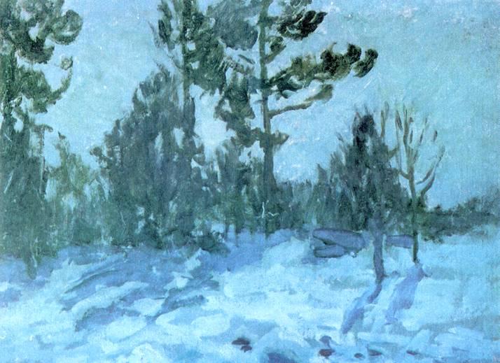 Зимняя Ночь Коровина