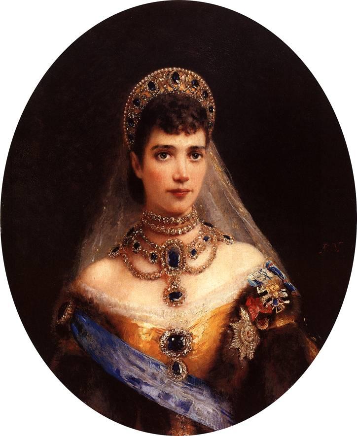 портрет императрицы марии федоровны