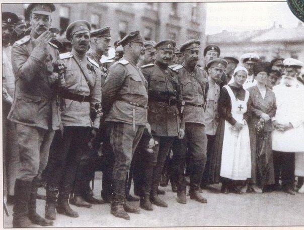Парад ВСЮР в Харькове