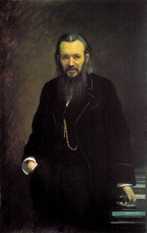 Портрет издателя Суворина