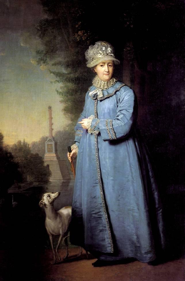 Боровиковский Портрет Екатерины II