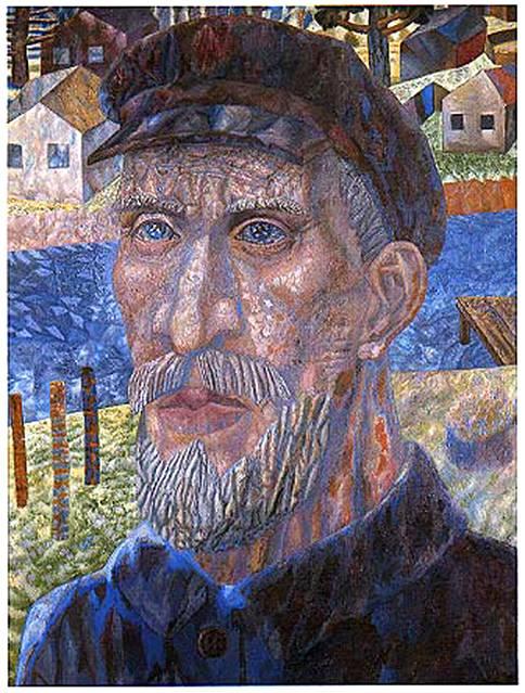 Колхозник. Филонов