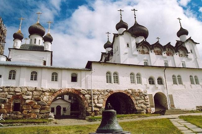 Соловецкий монастырь фото