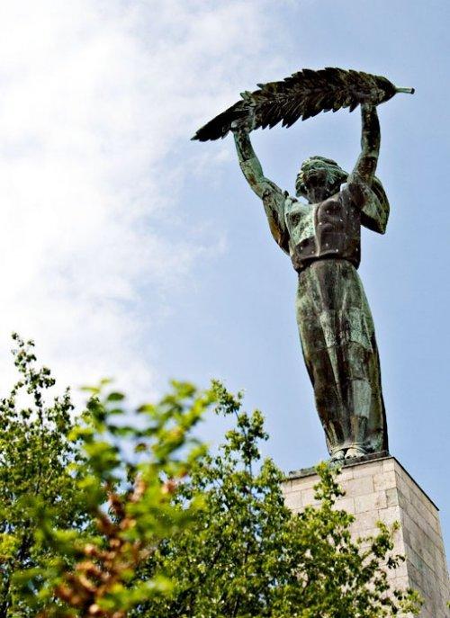 Будапешт. памятник в честь освобождения страны