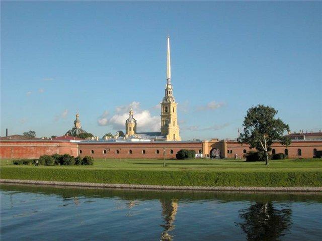 Петропавловская крепость картинки