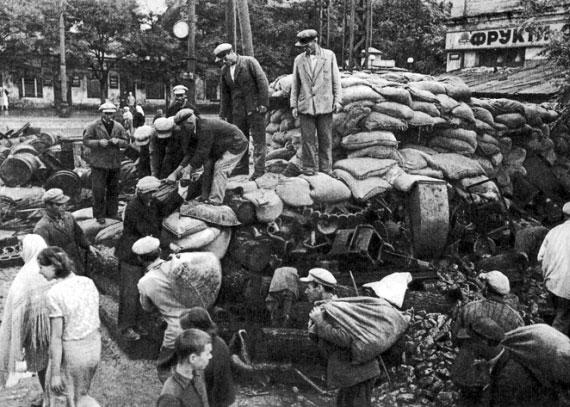 Подготовка к обороне Одессы во время Великой Отечественной Войны