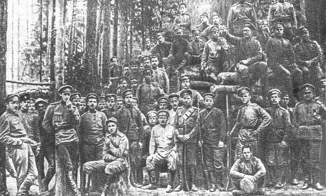 Латышские стрелки - оплот красной власти