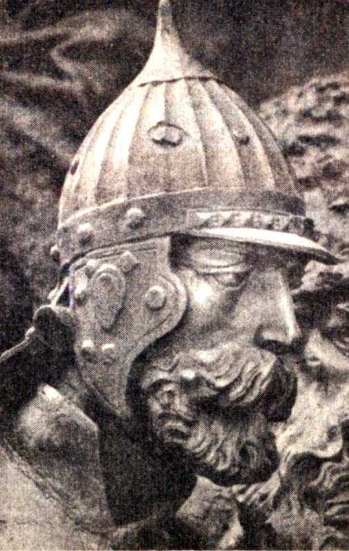 Даниил Дмитриевич Холмский скульптура